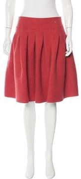 Bottega Veneta Knee-Length Wool Skirt