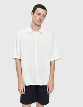Norse Projects Carsten Heavy Structure SS Shirt in White