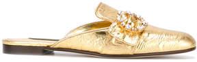 Dolce & Gabbana Jackie brocade flat mules