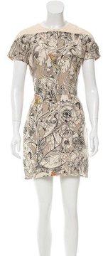Cacharel Wool & Silk-Blend Dress