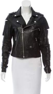 Each X Other Leather Cutout Jacket w/ Tags