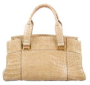 VBH Glazed Crocodile Via Bag