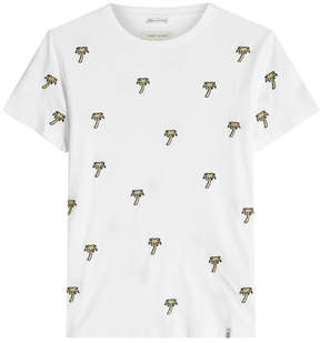 Marc Jacobs Embroidered Cotton T-Shirt