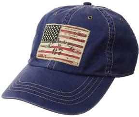 Polo Ralph Lauren Cotton Chino Iconic Flag Cap Caps