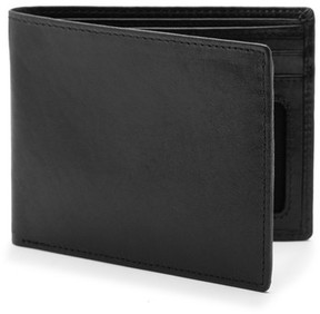 Bosca Men's Vermont Executive Id Leather Wallet - Black