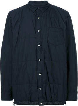 Sacai Quilted shirt jacket