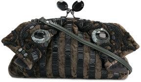 Jamin Puech embellished folded clutch bag