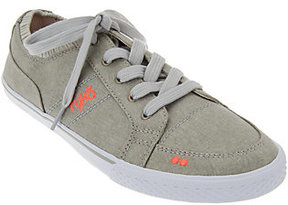 Ryka As Is Canvas Lace-up Sneakers - Emory