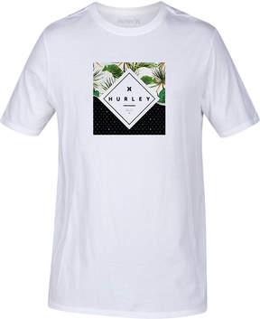 Hurley Men's Breaking Waves Graphic-Print T-Shirt
