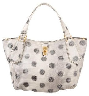 Marc Jacobs Embossed Lizzie Dots Tote - ANIMAL PRINT - STYLE