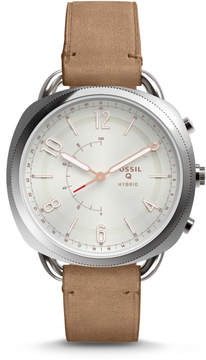 Fossil Hybrid Smartwatch - Q Accomplice Sand Leather
