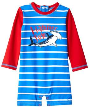 Hatley Surf Island Mini Rashguard One-Piece Boy's Swimsuits One Piece