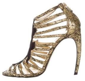 Walter Steiger Metallic Multistrap Sandals