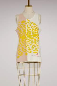 adidas by Stella McCartney Essentials leo printed tank top