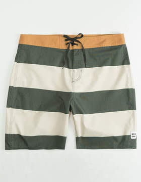 Brixton Barge Stripe Mens Boardshorts