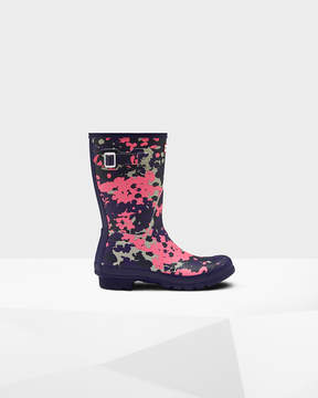 Hunter Women's Original Short Flecktarn Spacepop Rain Boots