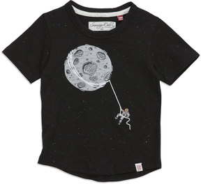 Sovereign Code Tied Up Space Short-Sleeve Tee, Black, Size 12-24M