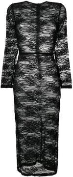 Dolce & Gabbana lace bodycon dress