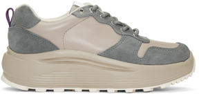 Eytys Taupe Jet Combo Sneakers
