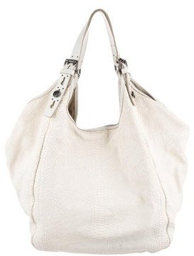 Givenchy Tinhan Embossed Leather Hobo