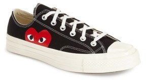 Comme des Garcons Men's X Converse Chuck Taylor Low Top Sneaker