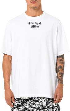 Marcelo Burlon County of Milan Flags Short-Sleeve T-Shirt, White