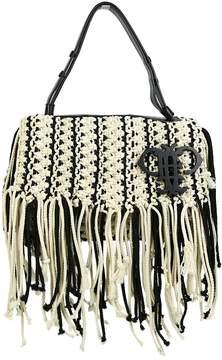 Emilio Pucci White Polyester Handbag