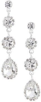 Cezanne Daisies Linear Drop Earrings