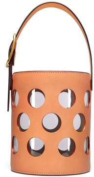 Tory Burch PERFORATED BUCKET BAG - CAMELLO - STYLE