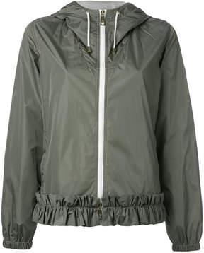 Fay hooded bomber jacket