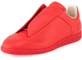 Maison Margiela Men's Future Leather Low-Top Sneakers