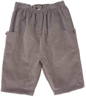 Marie Chantal Baby Boy Baby Cord Pull-On Pants - Grey