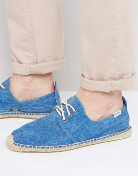 Soludos Derby Lace Up Mesh Espadrilles