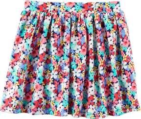 Carter's Toddler Girls Floral Jersey Skort