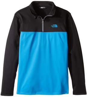 The North Face Kids Tech Glacier 1/4 Zip Boy's Long Sleeve Pullover