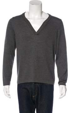Billy Reid Wool V-Neck Sweater
