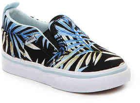 Vans Girls Asher V Infant & Toddler Slip-On Sneaker