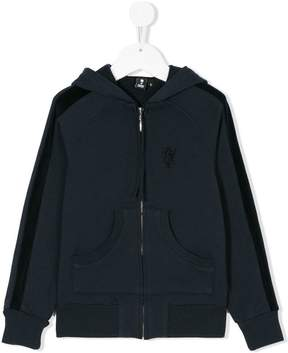 European Culture Kids zip-up hoodie