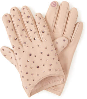 Henri Bendel Socialite Leather Gloves