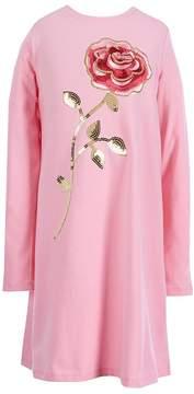 Kate Spade Little Girls 2-6 Rose-Embroidered Dress