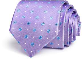 Bloomingdale's The Men's Store at Floret Dot Neat Classic Tie - 100% Exclusive