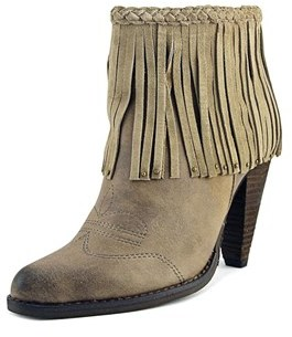 Very Volatile Ranch Women Pointed Toe Synthetic Ankle Boot.