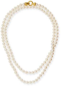 Elizabeth Locke Serena Long Pearl Necklace, 35