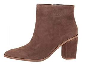 1 STATE 1.State 1.state Womens Paven Suede Pointed Toe Ankle Fashion Boots.