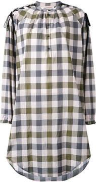 A.F.Vandevorst plaid shirt dress