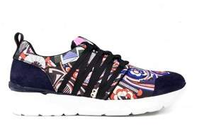 MSGM Women's Multicolor Leather Sneakers.