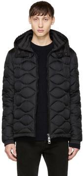 Moncler Black Down Morandieres Jacket