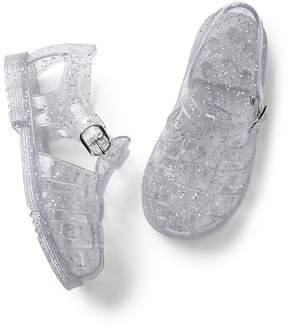 Gap Glitter Basketweave Jelly Sandals