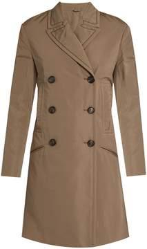 Brunello Cucinelli Monili-embellished taffeta trench coat