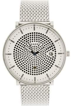 Skagen Men's Hald SKW6278 Silver Stainless-Steel Quartz Fashion Watch